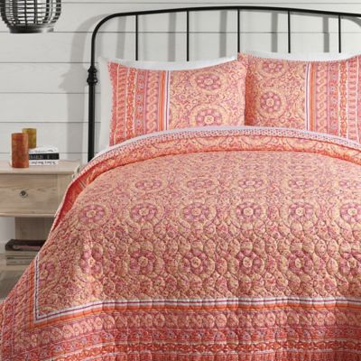 Buy Coral Quilt Bedding From Bed Bath Amp Beyond