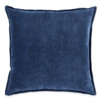 Surya Velizh 18-Inch Square Throw Pillow in Navy