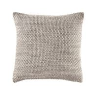Nautica® Bartlett Knit 16-Inch Square Throw Pillow in Natural