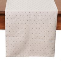 Thro Paxton 72-Inch Decorative Stud Table Runner in Oatmeal