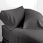 Modern Living 300-Thread-Count Queen Sheet Set in Graphite