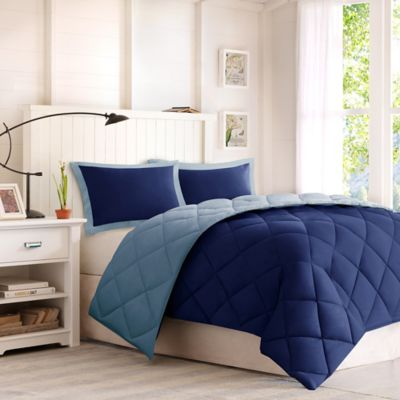 set piece comforters vcny beyond in from blue king buy carmen comforter bed bath navy
