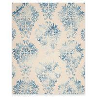 Safavieh Dip Dye Damask 8-Foot x 10-Foot Area Rug in Beige/Blue