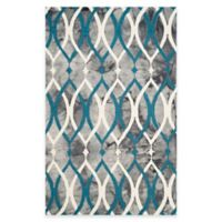 Safavieh Dip Dye Links 5-Foot x 8-Foot Area Rug in Grey/Blue