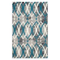 Safavieh Dip Dye Links 6-Foot x 9-Foot Area Rug in Grey/Blue