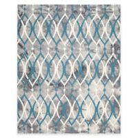Safavieh Dip Dye Links 9-Foot x 12-Foot Area Rug in Grey/Blue