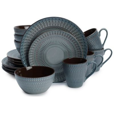 Gourmet Basics by Mikasa® Broadway 16-Piece Dinnerware Set  sc 1 st  Bed Bath u0026 Beyond & Buy Mikasa Dinnerware from Bed Bath u0026 Beyond