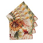 Autumn Sunflower Napkins (Set of 4)