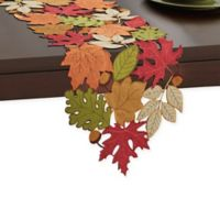 Serene Leaves 54-Inch Table Runner