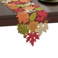 Serene Leaves 90-Inch Table Runner