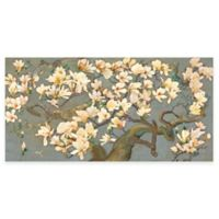 Marmont Hill Magnolia Branches IV 24-Inch x 12-Inch Canvas Wall Art