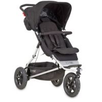 Mountain Buggy® +one™ Inline Double Stroller in Black