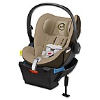 Cybex Platinum Cloud Q Infant Car Seat with Load Leg Base in Limestone