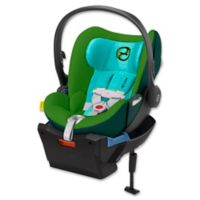 Cybex Cloud Q Infant Car Seat with Load Leg Base in Green Hawaiian