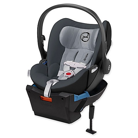 cybex cloud q infant car seat with load leg base in moon. Black Bedroom Furniture Sets. Home Design Ideas