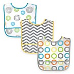 BabyVision® Luvable Friends® 3-Pack Waterproof Bib Set