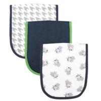 BabyVision® Luvable Friends® 3-Pack Dog Burp Cloth Set