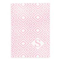 Tadpoles™ by Sleeping Partners Ultra-Soft Knit Greek Key Blanket in Pink
