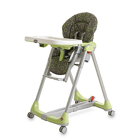 peg perego prima pappa green bubbles diner highchair buybuy baby