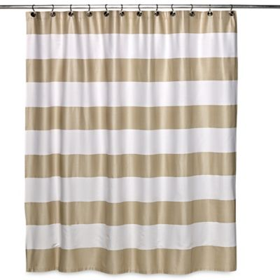 Caro Homeu0027s Avenue Stripe Shower Curtain