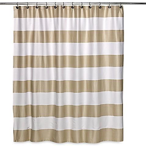 Caro Home S Avenue Stripe Shower Curtain Bed Bath Amp Beyond