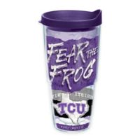 Tervis® TCU Horned Frogs 24 oz. Statement Wrap Tumbler with Lid