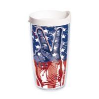 Tervis® Peace Flag 16 oz. Wrap Tumbler with Lid
