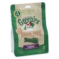 Greenies® Large 8-Count Grain-Free Canine Dental Chew Treats