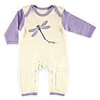 BabyVision® Touched by Nature Size 0-3M  Dragonfly  Organic Cotton Coverall in Purple
