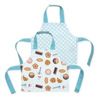Milk & Cookies Apron Bib (Set of 2)