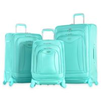 Olympia® USA Luxe 3-Piece 4-Wheel Expandable Spinner Luggage Set in Mint