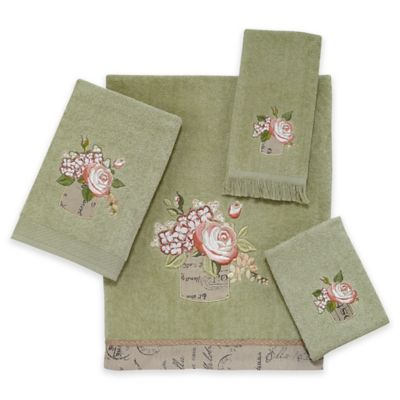 Buy Sage Green Towels From Bed Bath Beyond - Sage bath rug for bathroom decorating ideas