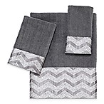 Avanti Chevron Nickel Hand Towel