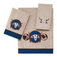 Avanti Longhorn Fingertip Towel in Linen