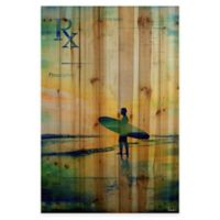 Parvez Taj Rx Surf 40-Inch x 60-Inch Wood Wall Art