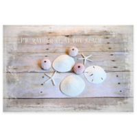 Marmont Hill I Can Still Hear The Waves 40-Inch x 60-Inch Canvas Wall Art