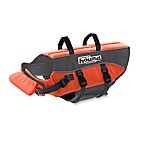 Ripstop Adjustable XL Life Jacket for Dogs in Orange