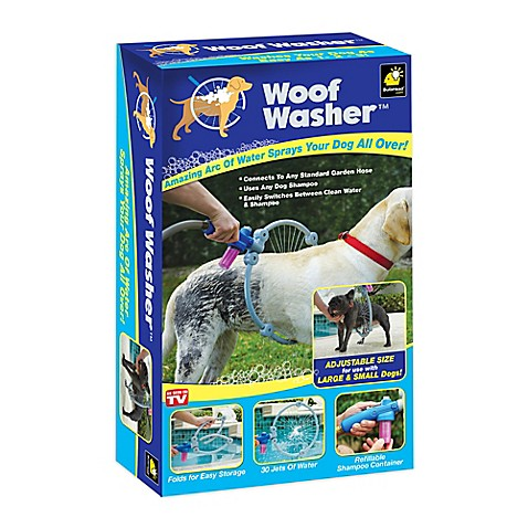 Woof Washer Dog Washer In White Bed Bath Amp Beyond