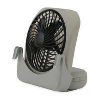 O2COOL® 5-Inch 2-Speed Pet Crate Fan in Grey