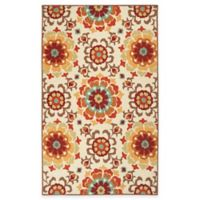 Surya Duvlia 2-Foot x 3-Foot Accent Rug in Beige/Red