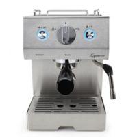 Capresso® Café PRO Professional Stainless Steel Espresso & Cappuccino Maker
