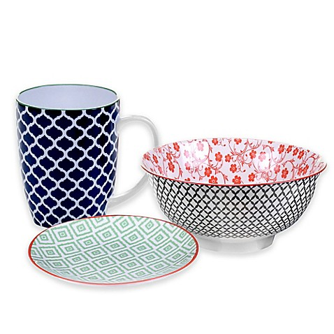 Certified International Soho Mix and Match Dinnerware Collection  sc 1 st  Bed Bath u0026 Beyond : dinnerware mix and match - pezcame.com