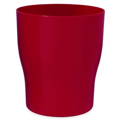 Buy red plastic baskets from bed bath beyond - Rd wastebasket ...