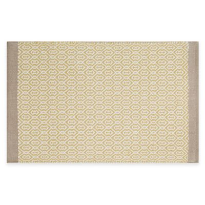 buy yellow kitchen rug from bed bath beyond