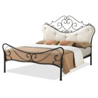 Baxton Studio Alanna Metal Queen Platform Bed