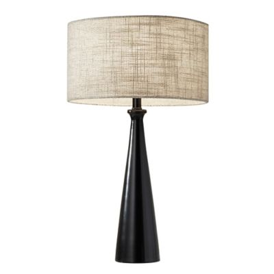 Buy adesso table lamp from bed bath beyond adesso linda table lamp in black aloadofball Image collections