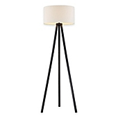 Adesso anderson tripod floor lamp in black wood grain bed bath adesso anderson tripod floor lamp in black wood grain aloadofball Gallery