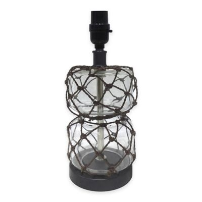 buy clear glass lamp from bed bath beyond. Black Bedroom Furniture Sets. Home Design Ideas