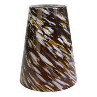 Litex Caramel Swirl Glass Mini Pendant Shade