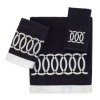 Avanti Alexa Hand Towel in Black